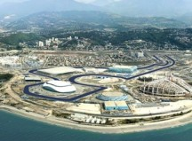 Sochi Olympic Venues. Photo courtesy of boston.com