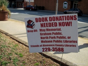 Due to budget cuts, libraries are turning towards their community to increase their collection.